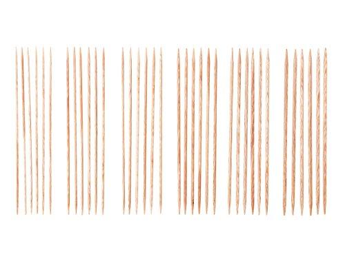 "Knit Picks 6"" Sunstruck Wood Double Pointed Knitting Needle Set by KnitPicks"