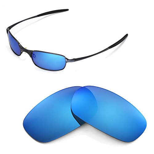 - Walleva Ice Blue Polarized Replacement Lenses for Oakley Square Wire 2.0