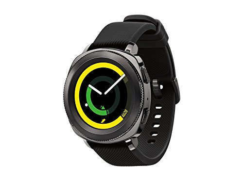 Click to buy Samsung Gear Sport Smartwatch Fitness Tracker- Water Resistant - International Version- No Warranty- Black (SM-R600NZKATTT) - From only $269.99
