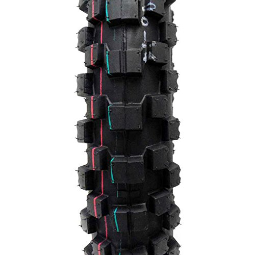 TIRE SET: Front 70/100-17 Rear 90/100-14 Dirt Bike Off Road by MMG (Image #4)