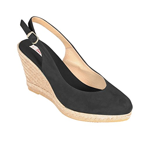 Sandalette VALENCIA, schwarz