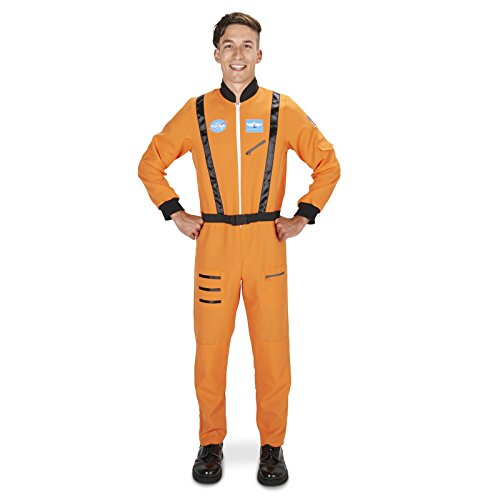 Adult Orange Astronaut Costumes (Orange Astronaut Adult Costume M/L)