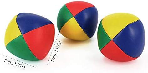 MAICOLA Juego de 3 Payaso de Circo Malabares Pelotas de Colores ...