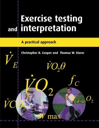 Pdf Medical Books Exercise Testing and Interpretation: A Practical Approach