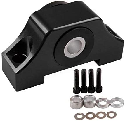 ホンダシビックエンジンEkeg車の変更の付属品のための車のエンジンの取り付けブラケットの小さい角度のエンジンの足-黒