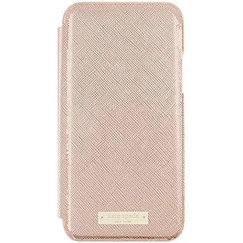 best service 559d4 7d4b3 Amazon.com: kate spade new york Folio Case for iPhone X - Saffiano ...