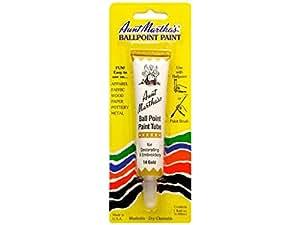 Aunt Martha Ballpoint Paint Tube Gold
