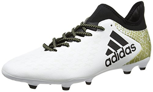 Ftwr Black White Entraînement Core Blanc 3 de Metallic Gold FG Homme Football adidas 16 X x7qpw7Sz