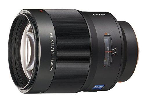 Sony SAL-135F18Z 135mm f/1.8 Carl Zeiss Sonnar T Telephoto Lens for Sony Alpha Digital SLR Camera