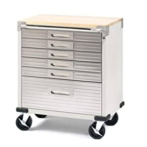 Amazon.com: Seville Classics UltraHD 6-Drawer Rolling Cabinet ...