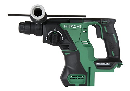 "Hitachi DH18DBLP4 18-Volt Lithium Ion Cordless Brushless SDS Plus 1"" Rotary Hammer (Tool Only, No Battery)"