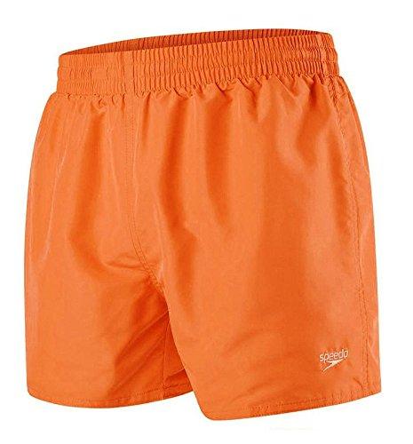 Speedo Fitted Leis 13 Wsht Am Orange Traje De Baño Hombre ...