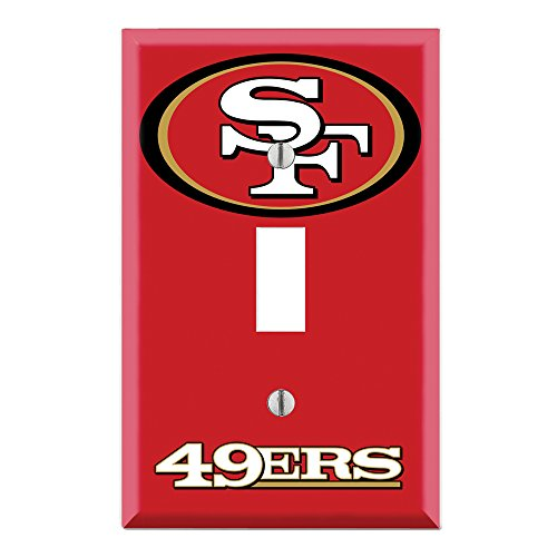 49ers switchplates san francisco 49ers switchplate 49ers for 49ers wall mural