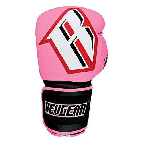 Sentinel Gel Pro Boxing Gloves - Pink - Pink - 12 oz by Revgear
