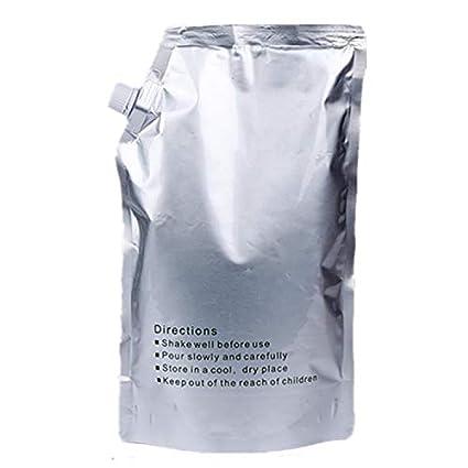 1 Paquete de 1 kg/Bolsa Original Negro Recambio Impresora Tóner ...