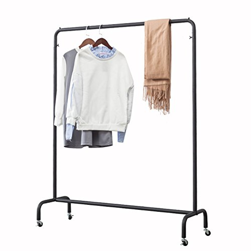 LE Clothes rack LE Industrial Pipe/Clothing Rack, Floor-moun