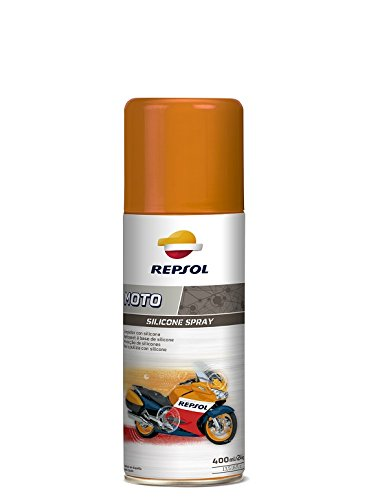 REPSOL MOTO SILICONE SPRAY 400 ML