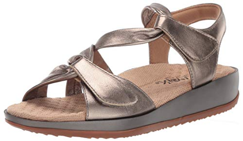 SoftWalk Women's Del Rey Sandal, Bronze, 8.0 M US