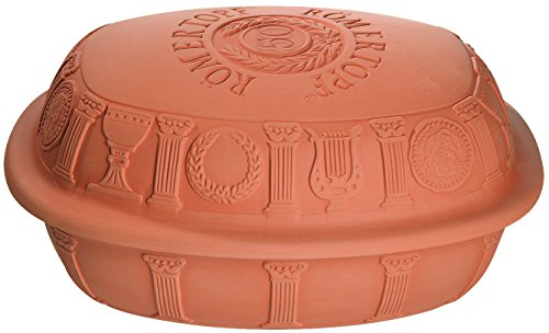 Romertopf by Reston Lloyd 50th Anniversary Series Natural Glazed Clay Baker, Large ()