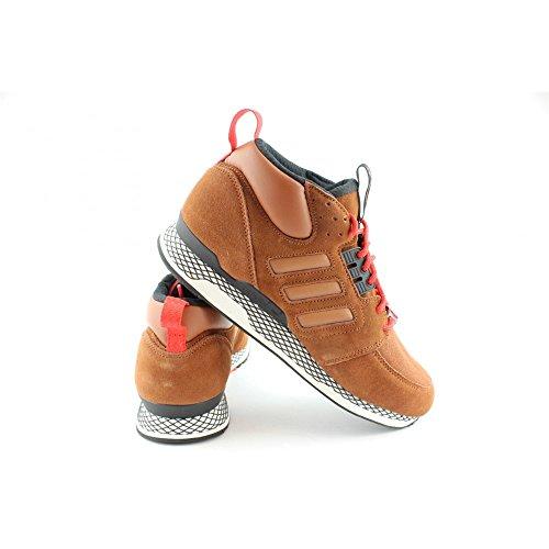 Fotos Precio Barato Venta De La Mejor Venta adidas Sneaker Alta ZX Casual Mid Bianco-nero-marrone Barato Recoger Una Mejor Falso Libre Del Envío Última De Descuento slvL4ap