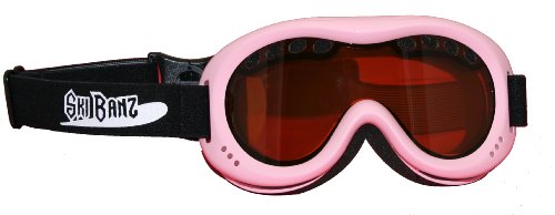 Baby Banz Ski Banz Goggles, - Baby Pink Banz