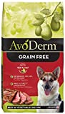 Avoderm Natural Grain Free Dry Dog Food, Red Meat Meal & Potato, 24-Pound Bag