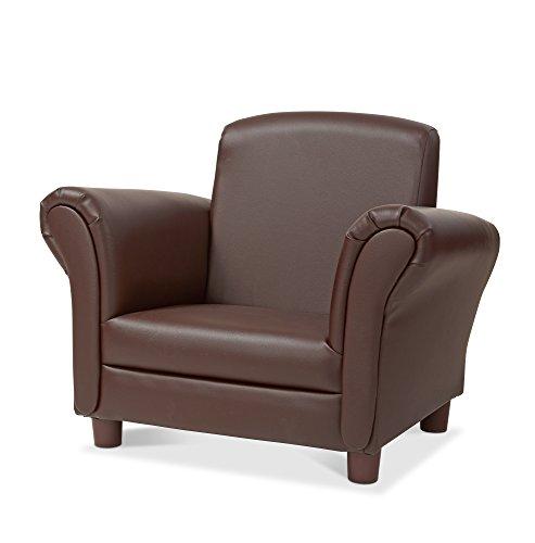 Melissa & Doug Child's Armchair - Coffee Faux Leather Children's Furniture
