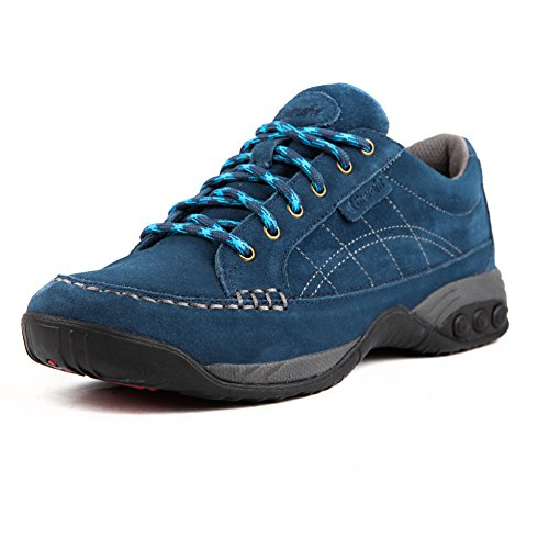 Therafit Shoe Donna Erika Scamosciata Oxford Shoe Navy