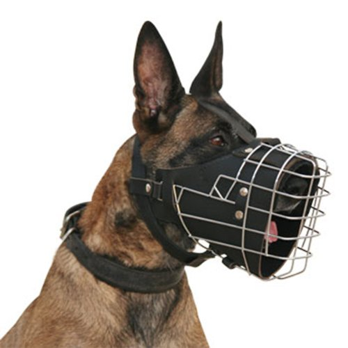 Dean and Tyler DT Freedom Fully Padded Muzzle, Size No. 3 - German Shepherd Male by Dean & Tyler (Image #4)