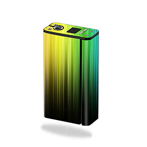 MightySkins Skin Compatible with Smok XCube Mini 75W - Rainbow Streaks   Protective, Durable, and Unique Vinyl Decal wrap Cover   Easy to Apply, Remove, and Change Styles   Made in The USA