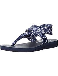 Cali Women's Meditation Slingback Yoga Flip-Flop