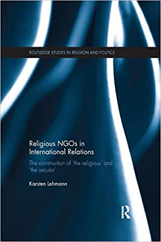 Amazon com: Religious NGOs in International Relations: The