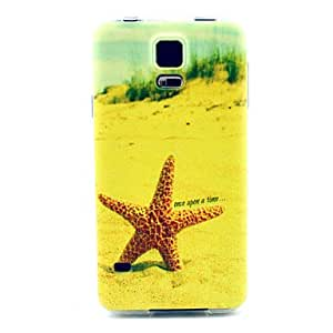 LCJ Beach Starfish Pattern Soft Case for Sumsang Galaxy S5Mini