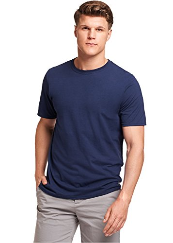 Russell Athletic Men's Essential Short Sleeve Tee, Navy, XXL