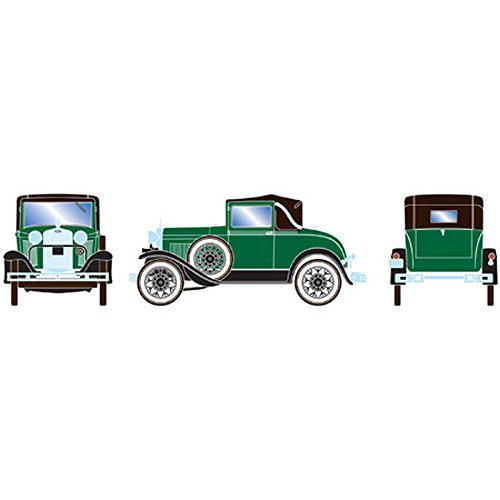 Athearn - HO RTR Model A Sport Coupe, Dark Green