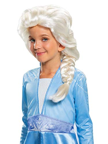 Disguise Disney Elsa Frozen 2 Girls' Wig - http://coolthings.us
