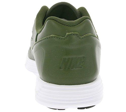 Nike Lunar Flow Lsr Prm, Zapatillas de Running para Hombre Marrón (Cargo Khaki / Cargo Khaki-White)