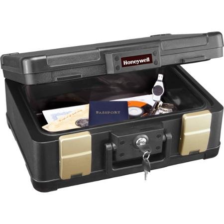 Honeywell 0.15 cu ft 30-Minute Fire Chest, Black by BLOSSOMZ (Image #1)
