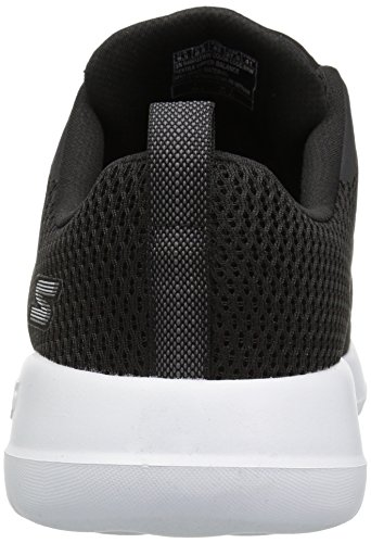 Skechers Mænds Go Gåtur Max-54601 Bred Sneaker Sort / Hvid E3NhL2uqo