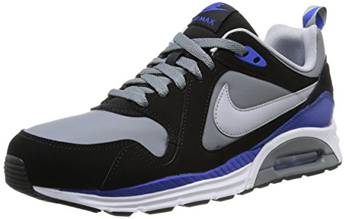 Nike Air Max Trax Leather Scarpe sportive, Uomo Cool Grey/Wolf Grey-blk-gm Ryl