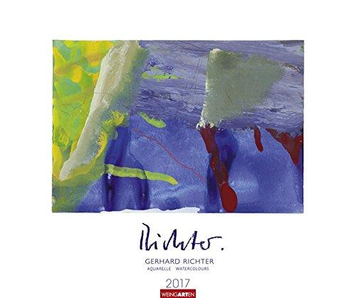 Gerhard Richter - Aquarelle - Kalender 2017