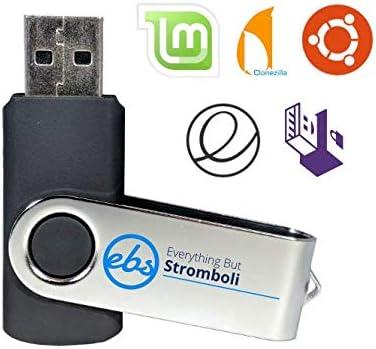 Ubuntu Linux Live OS 16GB Bootable USB Flash Drive