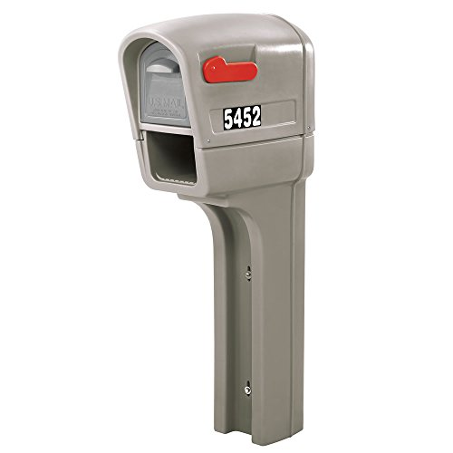 - Step2 545200 MailMaster Plus Mailbox, Stone Gray