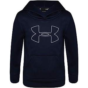 Under Armour Boys' Big Logo Hoodie