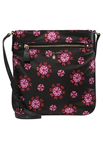 MICHAEL KORS Kelsey Large Crossbody Bag - Black Pink - - Online Shop Bags Michael Kors