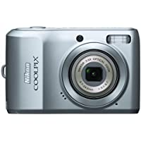 Nikon Coolpix L19 8MP Digital Camera with 3.6 Optical Zoom and 2.7 inch LCD (Silver) Overview Review Image