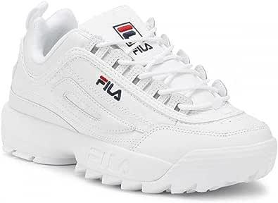 Fila classic fashion sneakers for Girls - full white