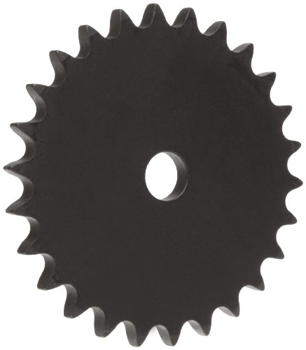 Martin Roller Chain Sprocket, Reboreable, Type A Hub, Single Strand, 40 Chain Size, 0.5