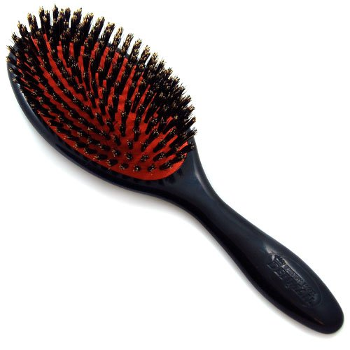 Denman Brushes THE GROOMING BRUSH #D82L, Large Natural Boar Bristle (D82L) (Denman Brush Boar Bristle)