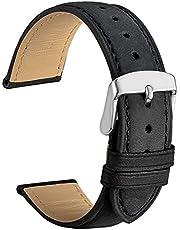 WOCCI Cinturino in Pelle Retro Compatibile con Molti Tipi di Orologi (14mm 18mm 19mm 20mm 21mm 22mm)